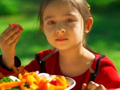 Дети - вегетарианцы