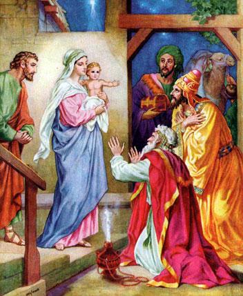 Мудрецы пришли к Марии