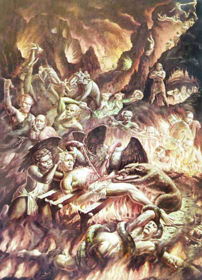 Кто совершал отвратительные, греховные поступки, будут низвергнуты в ад