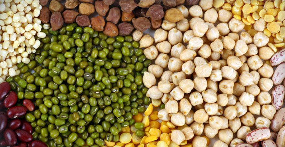 Зерно - бобовые