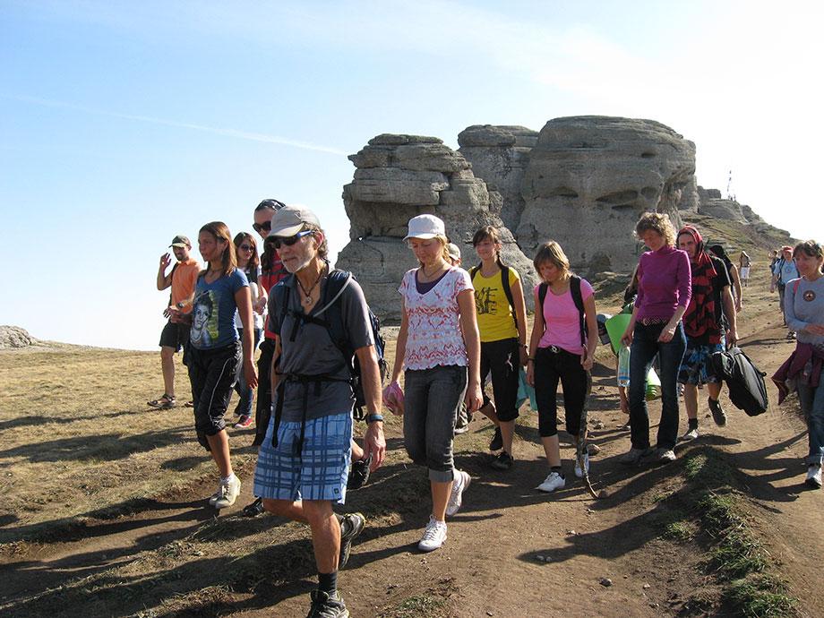 Поход вместе с Балакхилья дасом на Демерджи, Крым 2012