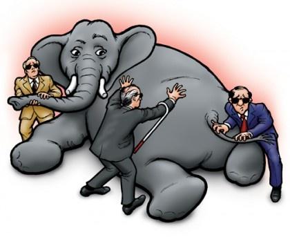 Слон и слепцы